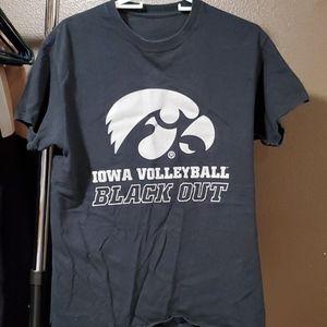 Iowa Hawkeyes Volleyball Tee